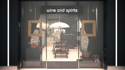 Wine and Spirits Drink Store in Golden Hall